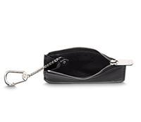 kadın deri fermuarlı cüzdanlar toptan satış-İnanılmaz Kalite Birçok renkler Anahtar Kılıfı zip Cüzdan Sikke Gerçek Deri Cüzdan Damier Ebene M62650 Kadın tasarımcı Marka mini kızlar çanta N62658