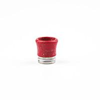 бирюзовые кончики капель оптовых-810 бирюзовые наконечники для капель Красивый наконечник Tophus для капель 810 TFV8 RDA RBA Распылитель Испарители с широким отверстием для мундштука