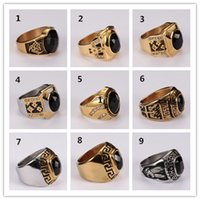 Wholesale Luxury Jade Jewelry - 16 Styles New Arrival Men's Gemstone rings Jewelry Gold Plated Green Malaysia Jade Sapphire Glass Oval ring for women Luxury Free Shipping
