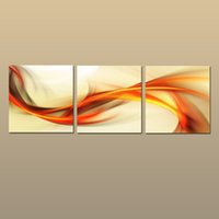 Wholesale Passion Paintings - 3 Pieces Sets Art Modern Abstract Picture Painting Multiple Piece Printed on canvas Art Passion New Arrivals Free shipping