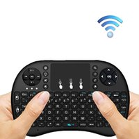 I8 Mini 2.4Ghz Teclado Sem Fio Teclado Touch-pad para Android Projector, PC, Tablet, Xbox, PS3, Google Android Tv Box, Smart TV