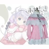 Wholesale Japanese Maids Pink - Kobayashi-san Chi no Maid Dragon Connor Kamui Maid Cosplay Costume