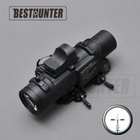 Wholesale Quick Fixes - Tactical Riflescope DR Quick Detachable 1X-4X Fixed Dual Role Sight Shotgun Scope Hunting Optics Riflescope