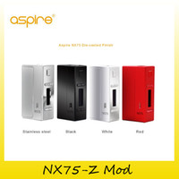 Wholesale Alloy Profile - Original Aspire NX75-Z Mod TC 75W Box Mod New Customizable Firing Button Profiles (CFBP) Function Zinc-Alloy genuine DHL Free 2210067