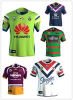 Wholesale Raiders Shirt L - 2018 NRL JERSEYS CANBERRA RAIDER S Rugby 2017 Home Jerseys NRL National Rugby League rugby Oakland canberra raider s shirts size S--XXXL