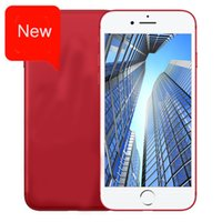 Wholesale Video Phone Lcd - Goophone i7 2017 new red custom version of the 4.7-inch quad-core 3G512 +8 GB large memory LCD display fashion hot smart phone