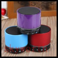 Wholesale S11 Beatbox Speakers - S11 bluetooth speaker wireless portable LED Mini speaker support TF card HD Beatbox subwoofer with retail package