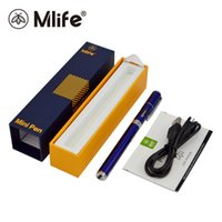 Wholesale Ego Cigarette Juice - Mlife Mini Pen Starter Kits Vape Pen Shisha E Cigarette eGo Style With 320mAh Battery Vaporesso 0.8ml Capacity E-juice Tank Original