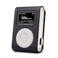 Wholesale mp3 player mini clip 1gb - Malloom 2017 USB LCD Screen Slim Mini Clip MP3 Music Player Support 32GB Micro SD TF Card electronica #MA24