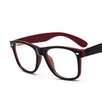 Wholesale Fake Glasses Frames - Wholesale- 2016 Brand New Hipster Eyeglasses Frames 2182 Oversized Prescription Glasses Women Men Fake Glass