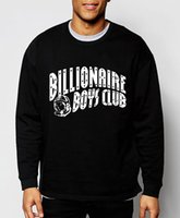 Wholesale Fall Clothing Men - Wholesale-Billionaire Boys Club 2016 new fall winter fashion BBC men sweatshirt cotton brand clothing streerwear hip hop hoodies