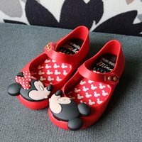 Wholesale Wholesale Crystal Fashion Sandals - 2017 New Baby Mini SED Baby Jelly Shoes Crystal Mini Melissa Shoes Kids Rain Boots Girl Fashion Sandals