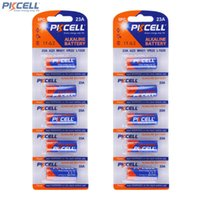 Wholesale Remote Control Garage Door Opener - 10Pcs PKCELL Alkaline Dry Batteries Primary 23A A23 MN21 12V For Garage Door Opener   Remote Control   Doorbell ACC_10I