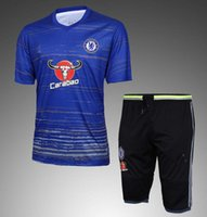 Wholesale Anti Che - Che tracksuits 16 17 HAZARD FABREGAS TERRY DIEGO COSTA KANTE best quality short sleeve tracksuit training jacket kit 2016