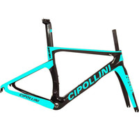 Wholesale China Carbon Black - Free shipping Cipillion NK bicycle carbon frameset black yellow road bike carbon frameset sky blue china framework with 2 year warranty