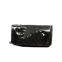 Wholesale Black Glossy Bags - Cosmetic makeup Cross Shoulder Bag BEAUTE With Chain glossy bag