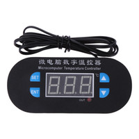 Wholesale Dc Heat - W3230 DC AC 12V 10A Digital Temperature Controller LED Display Thermostat Regulator with Sensor -50~110C Heating Cooling Control