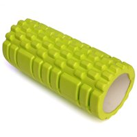 Wholesale Colors Yoga Blocks Fitness Gym Sports EVA foam Yoga Pilates Fitness Round Foam Roller With Massage Floating Point