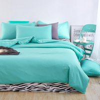 Wholesale zebra bedding twin - Wholesale- Home Textiles,fresh green +zebra lines style bedding sets 3 4Pcs of duvet cover bed sheet pillowcase King queen full twin size
