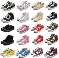 Wholesale Renben Shoes - shipping High-quality RENBEN Classic Low-Top & High-Top canvas Casual shoes sneaker Men's  Women's canvas shoes Size EU35-46 retail
