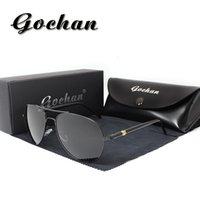 Wholesale Designer Menswear - Brand new fashion polarized sunglasses Business high-quality classic menswear designer sunglasses sports anti-UV 400
