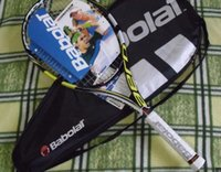Wholesale High Quality Carbon Fiber Tennis Racket Racquets Equipped with Bag Tennis Grip