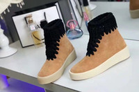 Super Quality Brand Womens High Top Casual Shoes Bobinas de fios Altura Aumentando Wear-resisting Non-slip Season2 Women Sneaker, Size34-40