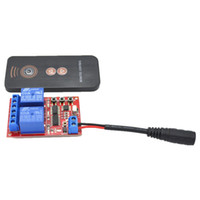 dc plugs wire venda por atacado-Atacado-5V DC 2 Way Learning Módulo Interruptor de Controle Remoto, IR Controller, Feminino Ligue DC Wire