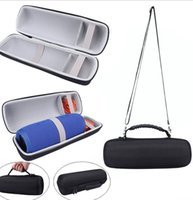 Wholesale Mp3 Plastic Case - EVA Carrying Storage Portable Case Pouch Bag Cover Portable Zipper Carry Box Holder For Charge3 Charge 3 III Bluetooth Speaker