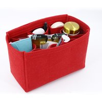Wholesale China Ladies Purse - 2017 ladies felt toiletry organizer new style durable washable travel makeup bag purse organizer made in China
