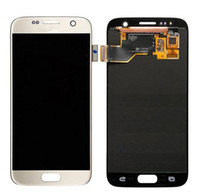 Para Samsung S7 LCD Display com Touch Screen Digitizer Assembly Replacement telefone celular lcd SM-G930A SM-G930F G930V G930T com ferramentas