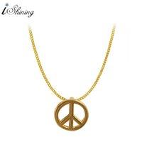 Wholesale Cheap Bib Necklace Jewelry - Wholesale-Classic Women Heart Bib Link Chain Pendant Necklaces Cheap Women Necklace Jewelry 2016 New Trendy Hot Sale