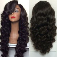 Wholesale Indian Lace Wigs Wholesale - ECHO 360 Lace Frontal Wig deep wave Lace Front human Hair Wig 180% Density Full Lace Human Hair Wigs Black Women
