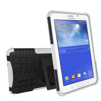 Wholesale tab casing - Defender Hard Back Armor Case Kickstand Shockproof Hybrid Cover For Samsung Tab 3 4 Lite T110 T113 T230 5 T350 A 2016 T280