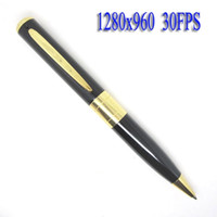 Wholesale Micro Sd Card Pen - 1280x960 30FPS HD Pen Camera with Alone Voice Recording DVR Support Micro SD Card