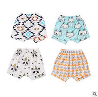 Wholesale Children Cute Underwear - New Arrival Baby Boy Girl Cute Printed Shorts Summer Baby Cotton Underwear Shorts Children Kids All Match Leggings Free Shipping