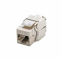 tomas de red keystone al por mayor-Al por mayor- 10GB de red Cat6A (CAT.6A Clase Ea) RJ45 Keystone Jack blindado - También es adecuado para el cable CAT7