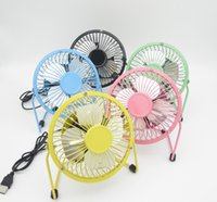Wholesale Usb Portable Computer Table Fan - 4 Inch Usb Mini Desktop Fan Table Portable Adjustable Fan Compatible With Computer Laptops Power Bank Quiet Cooling For Office And Home