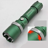 Wholesale Torche Ultrafire - Self Defense LED FlashLight Cree Q5 Flash Light Torch Lamp Powerful Lantern Tactical Lanterna Emergency Defensive Lampe Torche