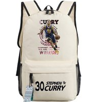 Wholesale Art Curries - Picture Basketball backpack Stephen Curry school bag Most Valuable warriors daypack Star schoolbag Outdoor rucksack Sport day pack