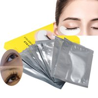 Wholesale Cheapest Wholesale Patches - Wholesale-Jimshop Famous Cheapest 10pair Lint Free Under Eye Gel Collagen Patches Pads For Lash Eyelash Extension Freeshipping Wholesale