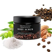 Wholesale Body Whitening Scrub - Wholesale-Neutriherbs Coffee Coconut Natural Oil Body Scrub For Exfoliating Moisturizing Whitening Reducing Cellulite With Free Shipping