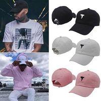 Wholesale Wholesale Womens Baseball Hats - Wholesale- Mens Womens Classic Uzi Gun Dad Baseball Cap Snapback Hip hop Cap Hat Adjustable
