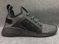 Wholesale Youth Women Volleyball - 2017 Newest NMD Runner Primeknit XR1 Fall Olive Green All Black Fashion Sneakers Men Women Youth Sports NMD XR1 Running Shoes Size 36-44