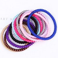 Wholesale Order Head Bands - Brand new Color hair ornaments woven rubber band hair head hair ring rope FQ087 mix order 100 pieces a lot