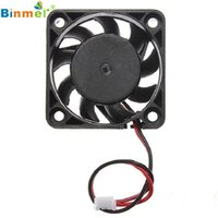 Wholesale Adroit V Pin mm Computer Cooler Small Cooling Fan PC Black F Heat Sink MAR26