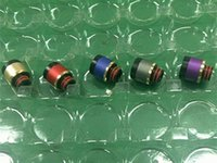 Wholesale Drip Tip Wholesale China - uwell crown 3 tank drip tip 510 mouth piece colorful uwell crown 3 drip tips e cig 2017 latest craze product china