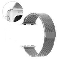 Wholesale I Watches - Milanese Loop Magnetic Stainless Steel Watch Band with Metal Adapter for I Watch Band with Retailpackage