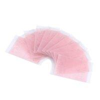 Wholesale Eye Tape Fiber - Wholesale-2 pcs Invisible Fiber Double Side Adhesive Eyelid Stickers Technical Eye Tapes