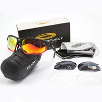 Wholesale Rudy Lens - The New Polarized Brand Rudy 3 Lenses Sunglasses For Men Women Racing Sport Cycling Glasses Mountain Bike Goggles Interchangeable Eyewear.